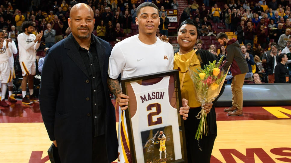 Gopher Basketball Senior Night