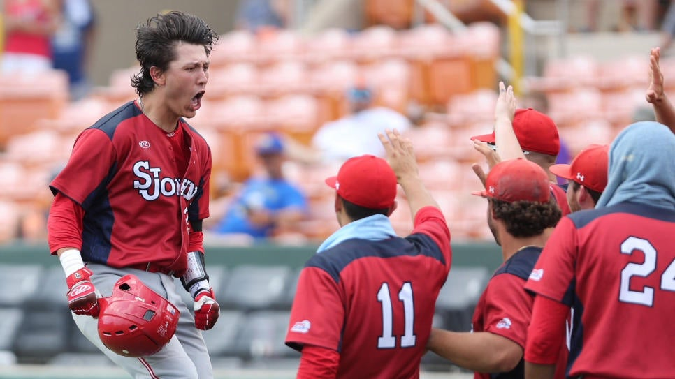 Baseball: NCAA Regional Press Conference: St. John's 11, Morehead State 5