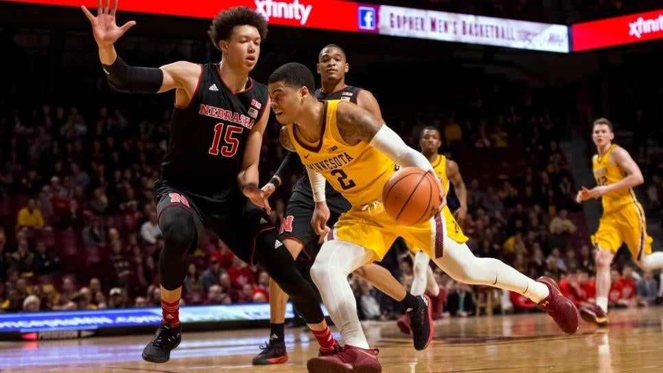 Gophers Fall to Nebraska 91-85