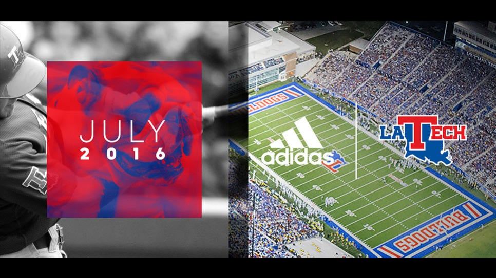 Louisiana Tech Athletics #teamadidas