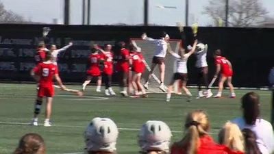 Highlights: Women's Lacrosse Comes Back to Upend No. 23 Cornell, 14-13