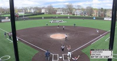 Highlights: Softball Tops Harvard in Home Finale, 11-3