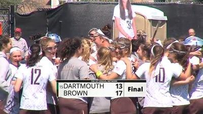 Highlights: Women's Lacrosse Closes Season with 17-13 Upset of No. 21/15 Dartmouth