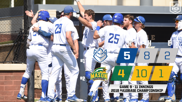 #A10BASE Replay - #1 Saint Louis 5, #2 George Mason 4 (11 innings)