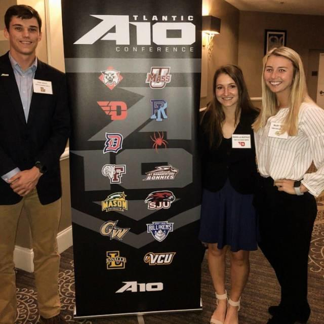 #A10SAAC Student-Athletes Participate in Fall Meetings